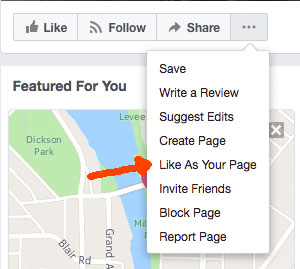 how-to-like-a-page-as-a-page